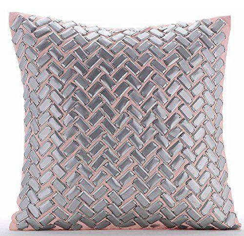 Designer Silver Pillow Covers, Modern Geometric Pillows C... https://www.amazon.com/dp/B016H8Z36E/ref=cm_sw_r_pi_dp_x_RKD.ybYCX39H4