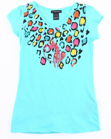 22.00 The Girl's Animal Print Tee by Baby Phat