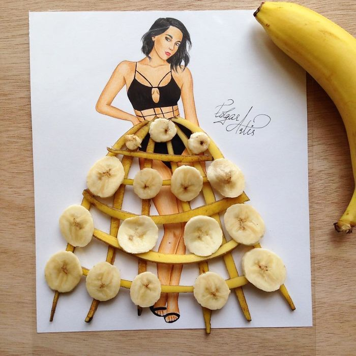 Submission to 'Armenian Fashion Illustrator Creates Stunning Dresses From Everyday Objects (10+ Pics)'