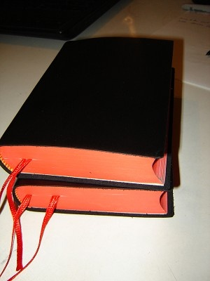 Burmese Small Leather Bible / Black Myanmar / Burma [Leather Bound]
