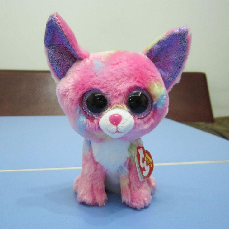 Animais de pelúcia TY Beanie Boos a camuflagem dog 22 CM olhos grandes de pelúcia brinquedo de pelúcia para presentes infantis brinquedos(China (Mainland))