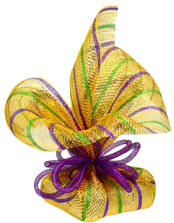 Party Ideas by Mardi Gras Outlet: Gift Wrap Ideas with Deco Mesh: Video Tutorial