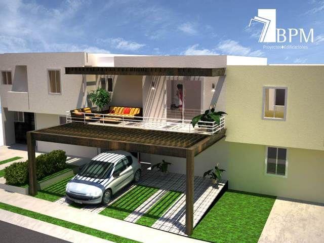 Proyecto remodelaci n terraza celosia casa habitaci n for Proyecto casa habitacion minimalista