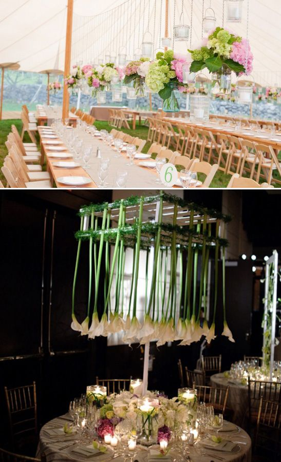 Centros de mesa colgantes barichara wedding planners for Mesa colgante para balcon