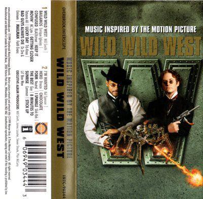 Wild Wild West by Will Smith Hero Stick Up Music Cassette Tape