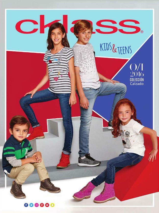 Catalogo de Zapatos y Ropa de Niños Cklass - Individual