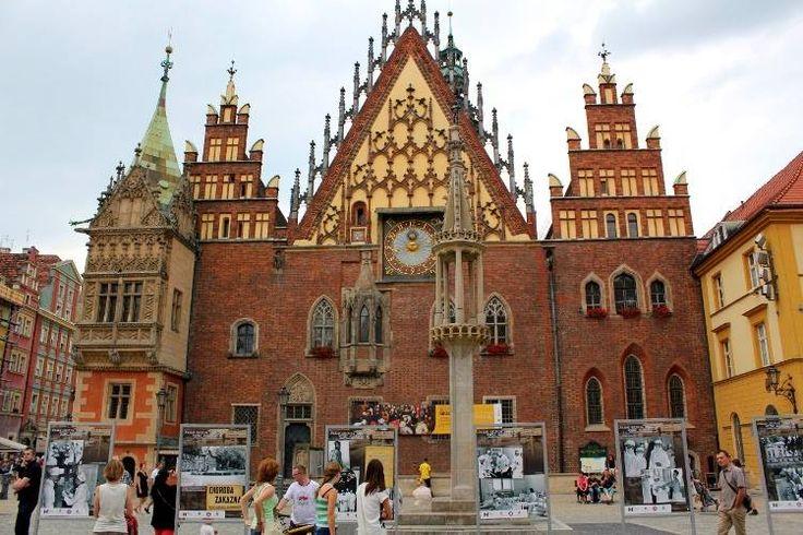 Ayuntamiento de Breslavia //Siglos XIII-XVI/Breslavia, Polonia