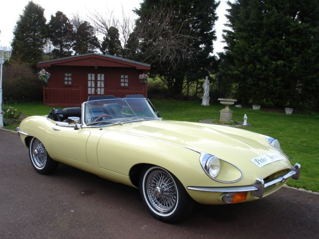 Jag 4.2 E type series 11 Roadster 1970. This is my Purrrrrrfect dream car.   <3