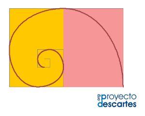 PROYECTO MISCELÁNEA. Espirales generalizadas de Durero. Mostrar la espiral generalizada de Durero correspondiente a diferentes crecimientos gnomónicos discretos y en particular al áureo y el cordobés. Mostrar la construcción de estas espirales reflejando aquellos elementos que permiten su representación: rectángulos recíprocos, gnomones y arcos de elipse.