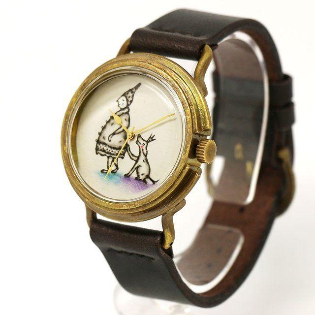 アート腕時計「きっと明日はいいことあるよ」イラストレーター 小笠原あり × A STORY TOKYO