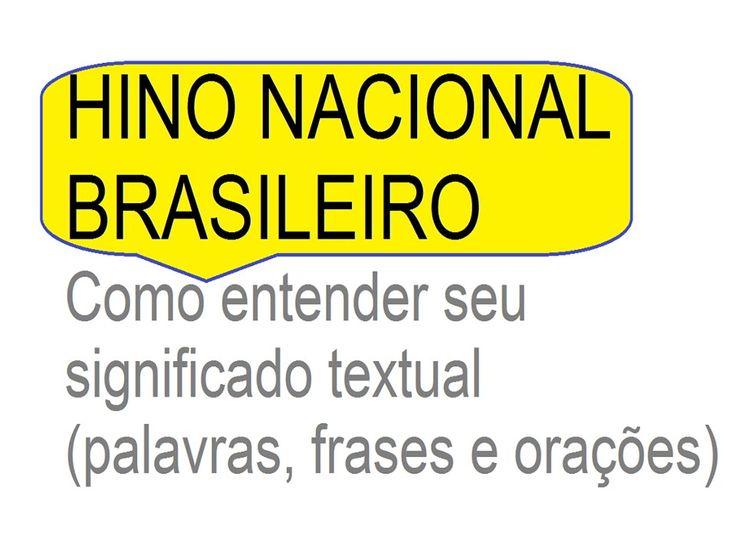 hino nacional brasileiro - como entender seu significado da letra https://youtu.be/aRwaqeTFU2Y