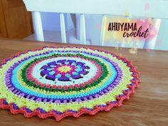 individual mantel mandala crochet tutorial paso a paso ahuyama crochet