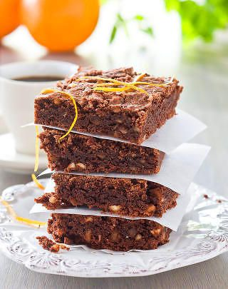 FAVORITT: Brownies er alltid godt. Foto: ALL OVER PRESS