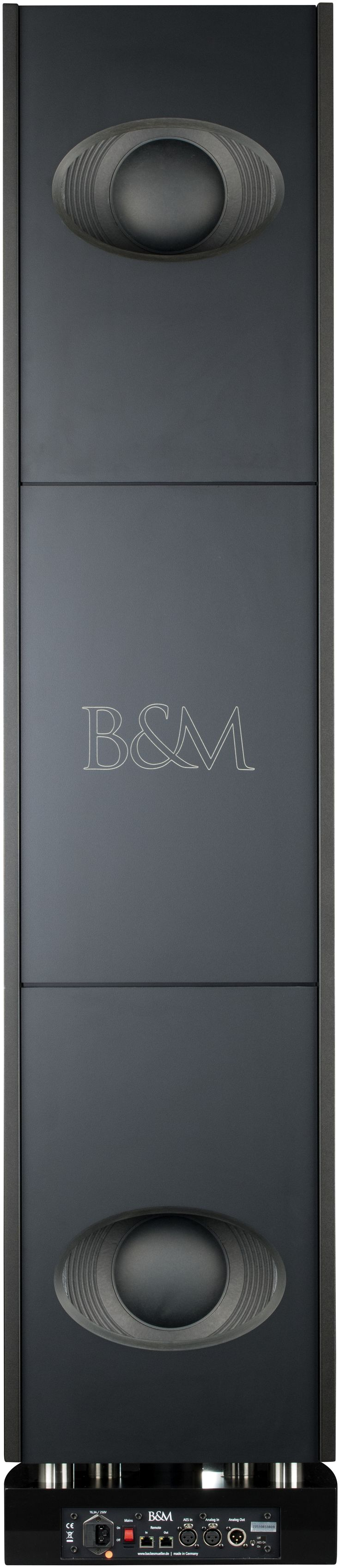 Backes&Müller - BM Line 35 schwarz matt - Aktivlautsprecher - activespeaker - 5