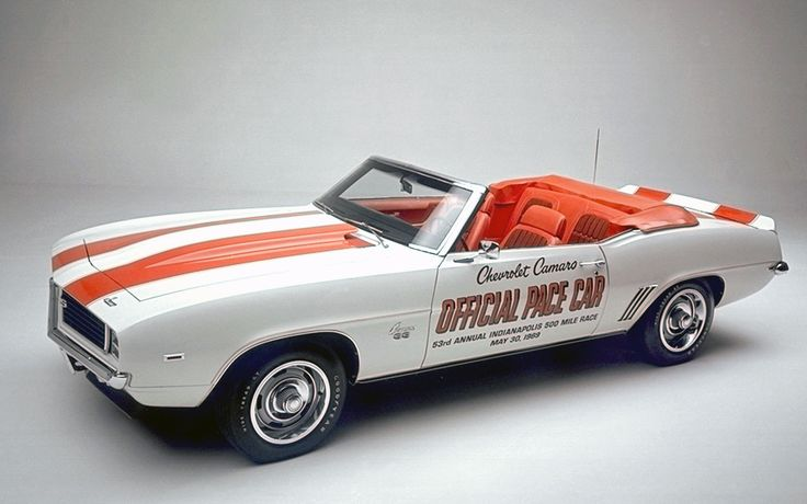 1969 Chevrolet Camaro SS Convertible Pace Car - one of ten greatest Camaro's ever