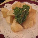 ダイナープレヤデス - 料理写真:黄爵いものフライ(\600)