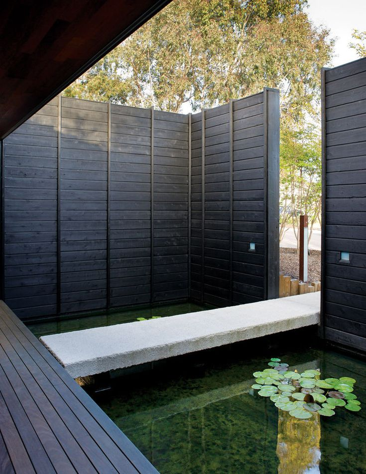17 best images about fence on pinterest gardens fence for Concrete koi pond design
