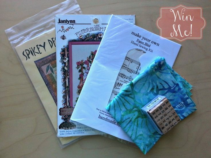 Its time for the Sew Mama Sew Giveaway Day! http://sewmamasew.com/blog2/2013/05/giveaway-day-is-may-6/  Want to try your hand at a new craft?  Visit telltalethread.blogspot.ca and find out how you can win a little crafty bundle!