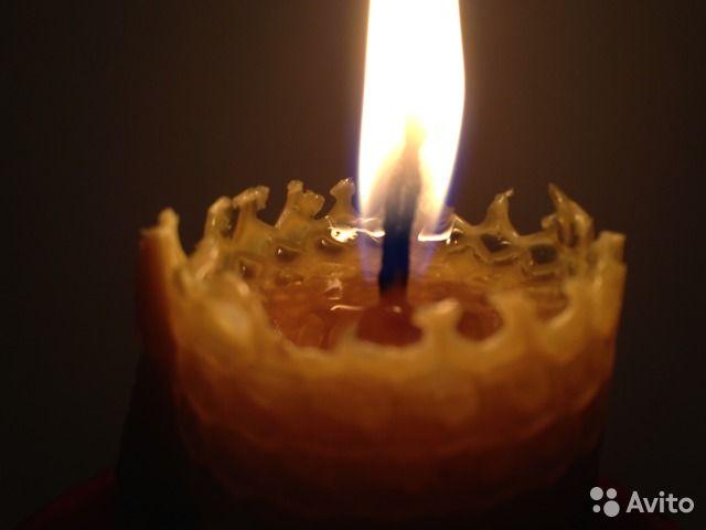 Катаные Свечи из пчелиного воска— фотография №2