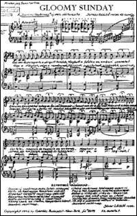 Fue compuesta en 1933 por los húngaros Rezso Seress (música) y Laszlo Javor (letra), quien realizó la letra en dedicatoria a su novia, que acababa de fallecer,