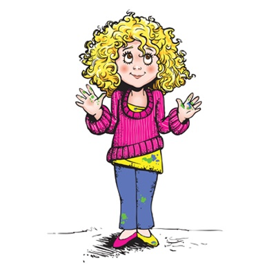 Character Design For Children Book Messy Tessy By