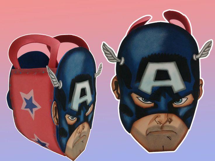 Cotillones para fiestas infantiles del Capitan America. hecho en foami. para mas Informacion comntactenos: 0412.550.74.25
