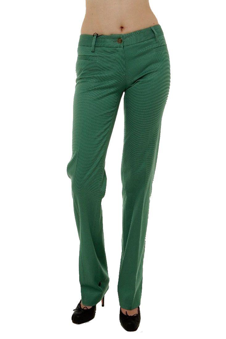 Dolce Gabbana Women's Green Trousers