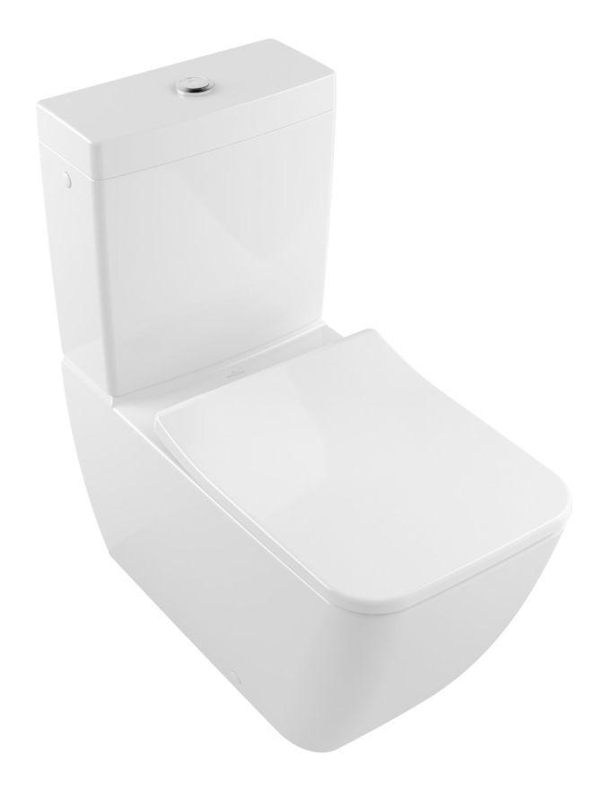 Villeroy Boch Legato Lave Wc 5634r0 Directflush Sans Bord 375x700mm Sur Pied Coloris Ceramique Blanche Plus 5634r0r1 In 2020 Chair Floor Chair Flooring
