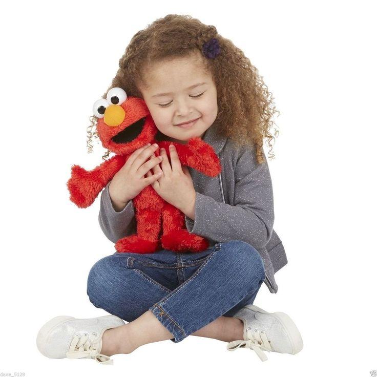 Sesame Street Furchester Hotel - Talking Elmo Soft Toy For Kids NEW