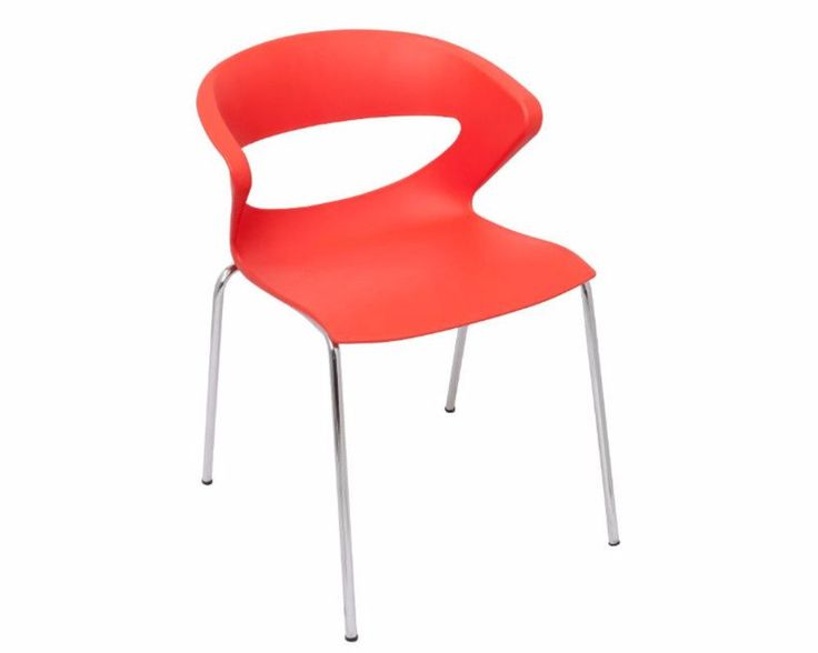 Rapidline Taurus Visitor Chair Red Pack Of 5