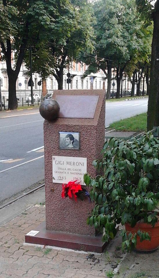 Torino, Corso Re Umberto, Gigi Meroni