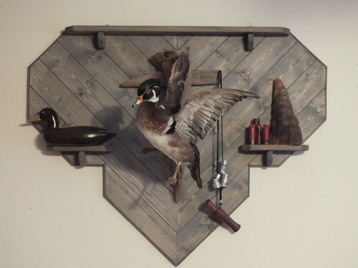 game panel shown with duck mount