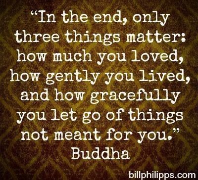Buddha Quotes About Not Letting Go
