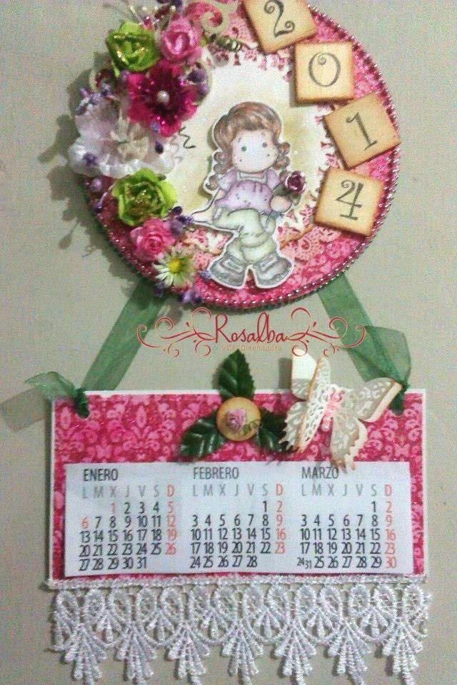 calendario magnolia