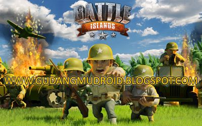 Free Battle Islands MOD v2.1.4 Apk Full Version 2016, GudangmuDroid | Free Download Game Android, Apk and Software, t's 1942, and deep in the Battle Islands Apk South Pacific your platoon of crack troops lands on a tropical island, but if you play Battle Islands Apk you can defeat enemy forces and hold your ground to fight another day? You'll need to act Battle Islands Apk quickly in this action-packed, WW2-themed Battle Islands Apk strategy game – Control air, sea, and land forces, build…