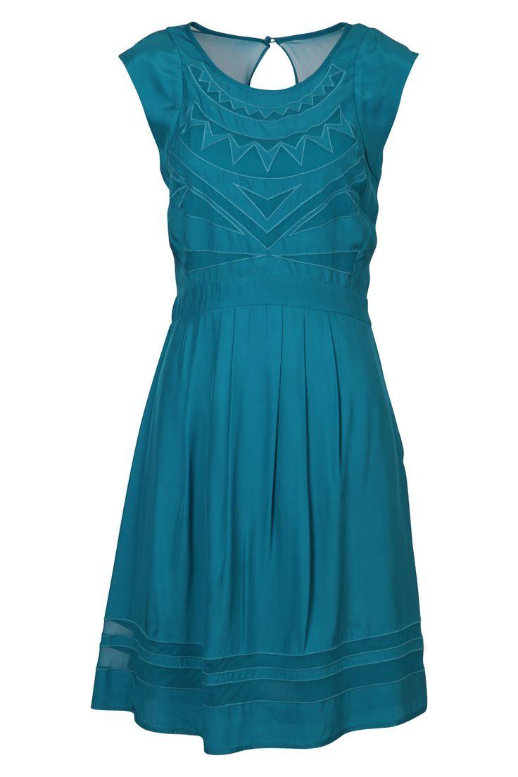 mixed feelings..hmm... Katherine Damson Dress - Womens Knee Length Dresses - Birdsnest Clothing Online