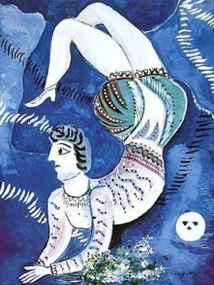 Acrobat - Marc Chagall