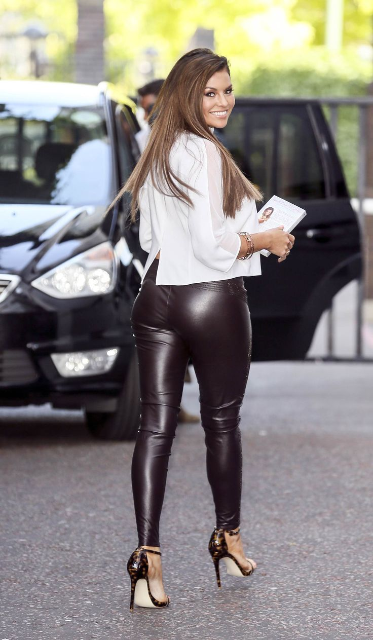 Tight pants girls leather