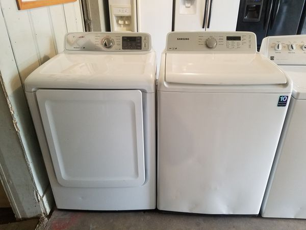 Samsung Washer Electric Dryer Set For Sale In Houston Tx Offerup Samsung Washer Washer And Dryer Electric Dryers