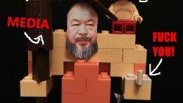 LEGO Poltics - Ai Weiwei bullies LEGO into political activism