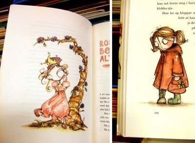 Nice illustrations for this book :)