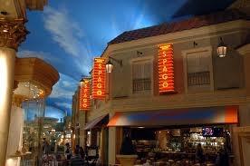 Wolfgang Pucks Spago Caesars Palace Las Vegas.  Awesome!! Love eating there!