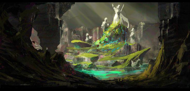 ArtStation - Little World, Jessica Nguyen
