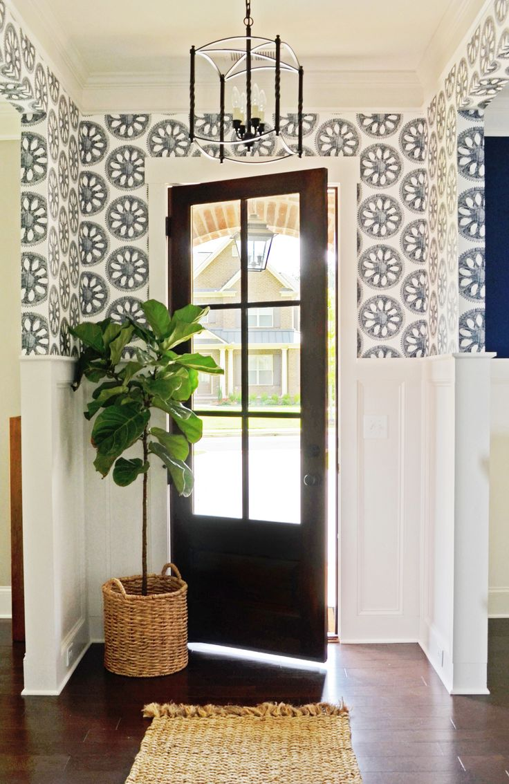 Modern Foyer Wallpaper : Best foyer wallpaper ideas on pinterest