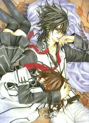 『 Vampire Knight ヴァンパイア騎士〈ナイト〉 』   Kuran, Kaname • Cross, Yuuki  