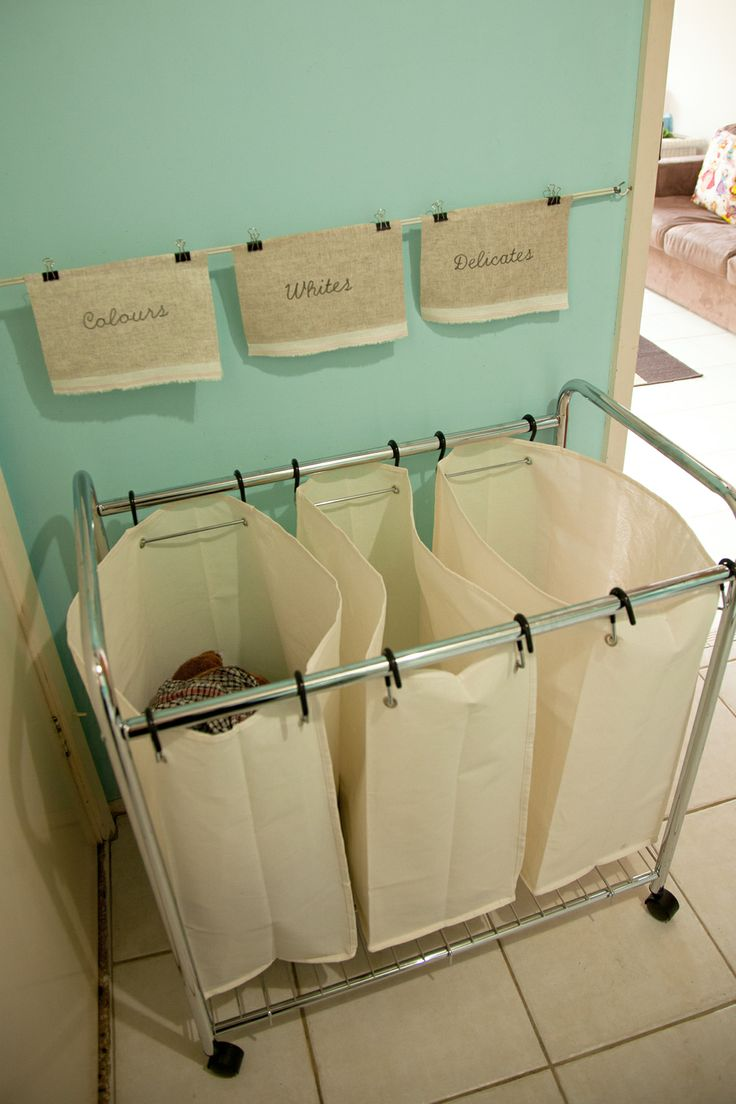 Large 3 Divider Laundry Cart Code: PYS660 Available from Howards Storage World