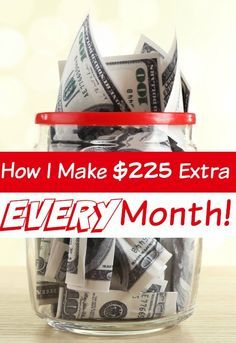 How I Add $225 Extra Income EVERY Month - Need to add some extra money to your bank account each month? I add $225 (or more) EVERY. Single. Month! How? Just 6 EASY steps each day and I'm going to show you how you can do it too!