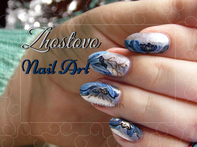 Zhostovo Nail Art
