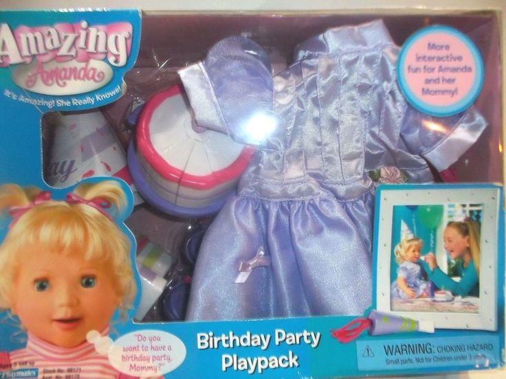 Amazing Amy Doll Playmates Birthday Party Outfit #playmates