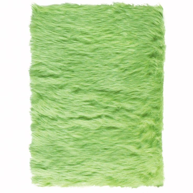 faux sheepskin lime green 10 ft x 13 ft area rug